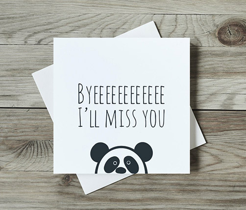 Fun Cards for Moving Friends