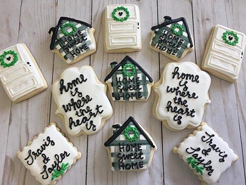 Home Sweet Home Cookie Basket