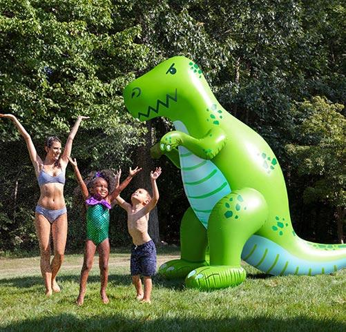 Dinosaur Yard Sprinkler