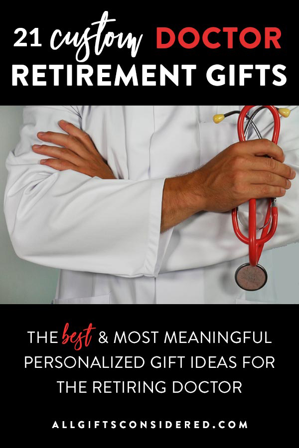 Personalized Doctor Retirement Gifts