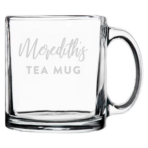 Personalized Tea Glasses