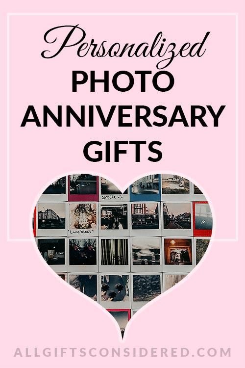 9 Beautiful Photo Anniversary GIfts