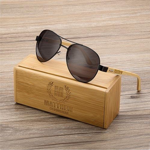 Personalized Sunglasses & Case