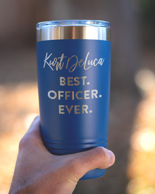 Best Officer Ever Personalized Mug