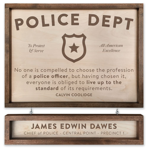 Best Personalized Police Department Gifts