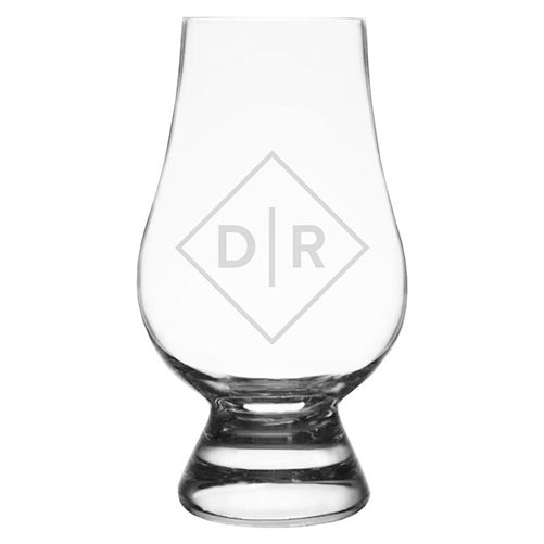 Personalized Glencairn Whiskey Glass