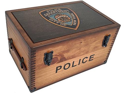 Keepsake Box for Retired Cops