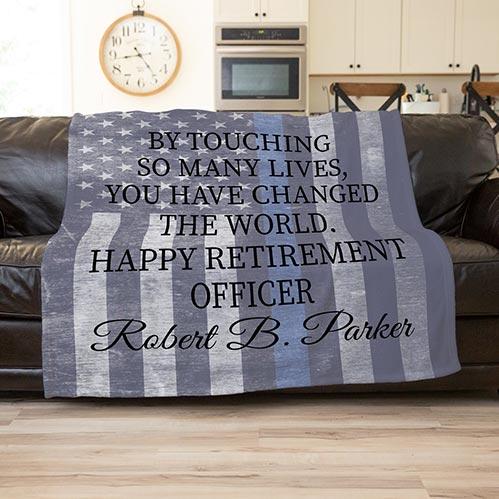 Large Retirement Blanket