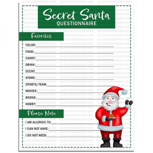 Example Photo for the Secret Santa Questionnaire