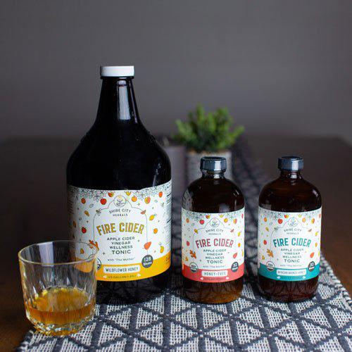 Organic Self-Care Gifts: Cider Tonic