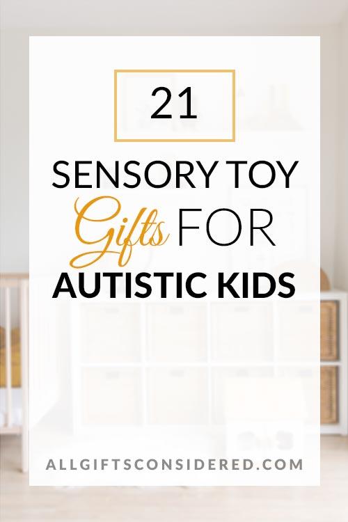 21 Sensory Toys for Kids