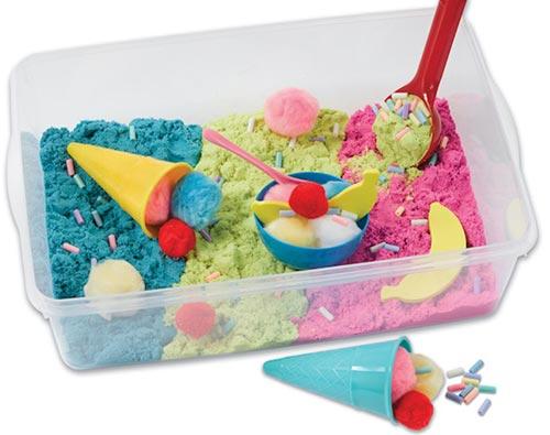 Ice Cream Sensory Bin
