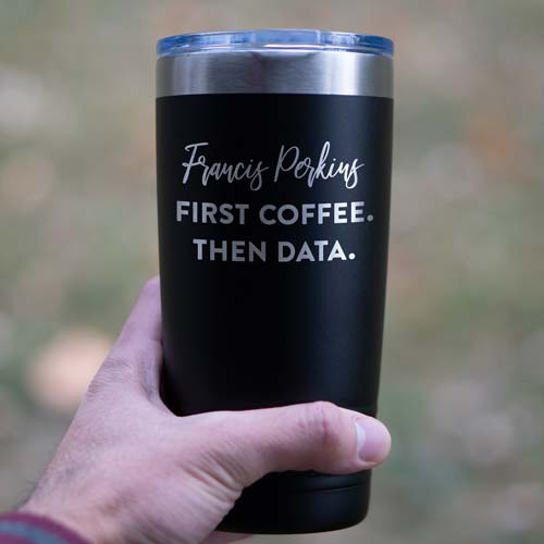 First Coffee, Then Data Personalized Mug