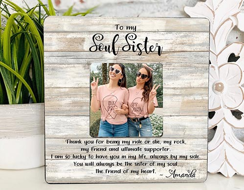 Soul Sister Picture Frame