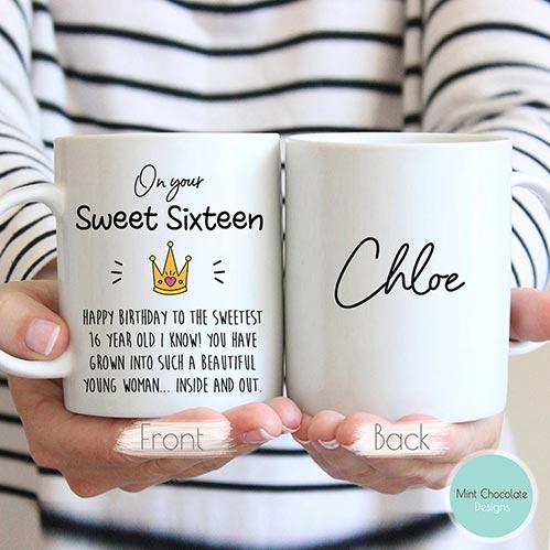 On Your Sweet Sixteen Mug