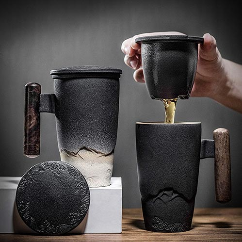Ceramic Tea Mugs
