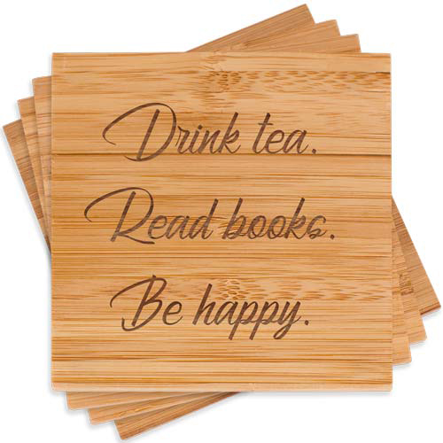 Personalized Coasters for Tea Drinkers