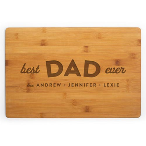 Personalized Cutting Boards for Dad