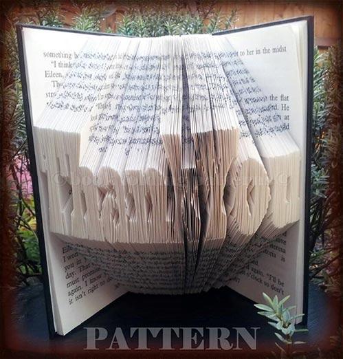 Thank You Book Art