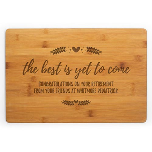 Personalized Thoughtful Cutting Board