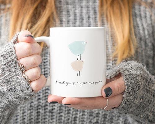 Adorable Thoughtful Mugs