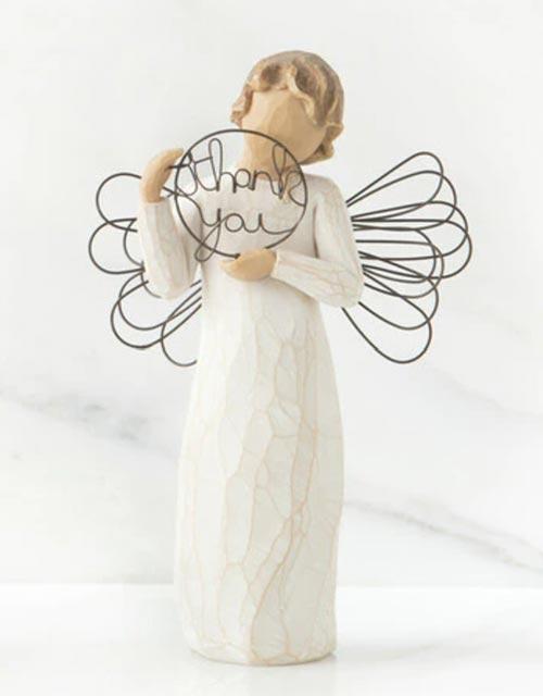 Thoughtful Angel Statue