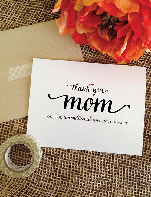 Thank You Cards for Mom