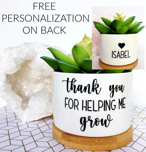 Personalized Planters