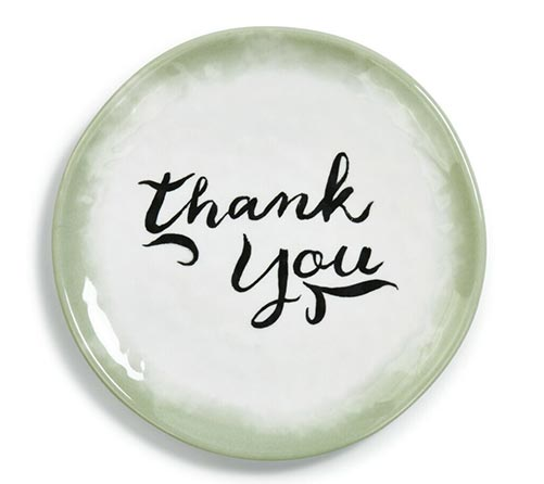 Thank You Plates