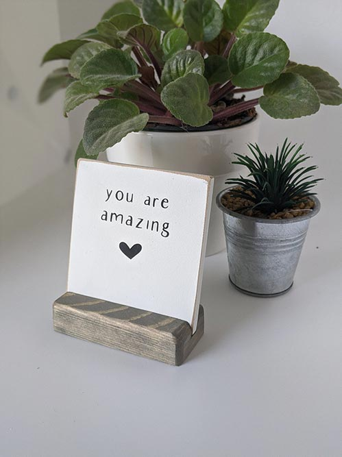 You Are Amazing Block