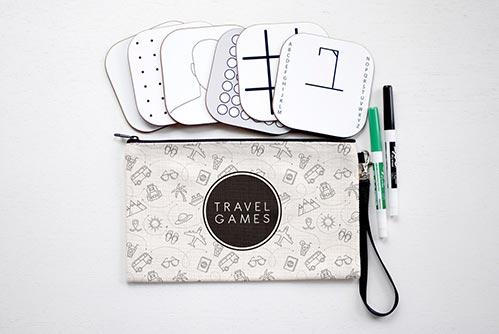 Dry Erase Traveling Games
