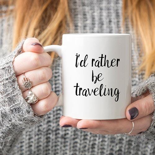 Funny Mugs for Travelers
