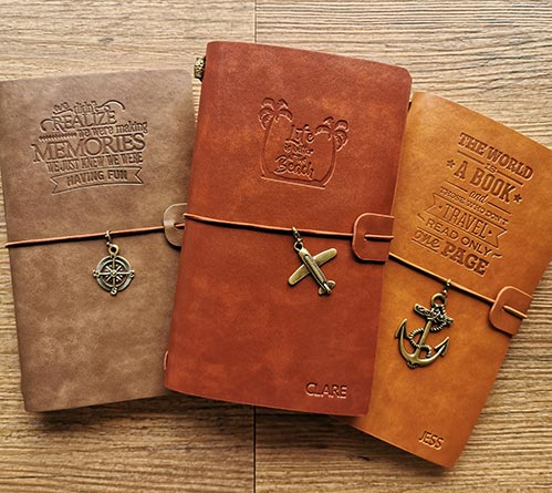 Leather Traveling Journal