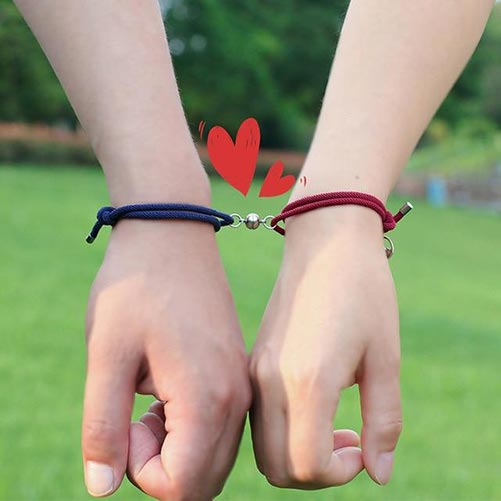 Magnetic Couple's Bracelet