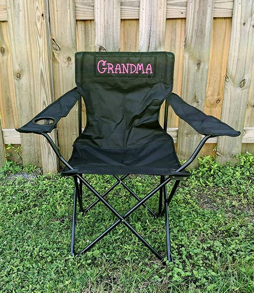 Personalized Outdoor Chair
