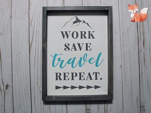 Traveling Office Decoratin