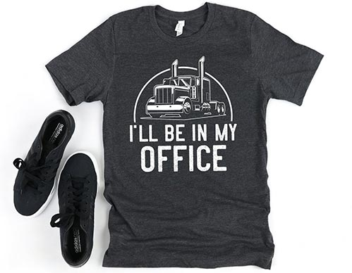 I'll Be in My Office Funny Shirt