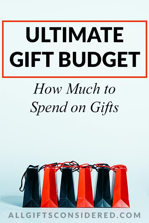 Ultimate Gift Budget