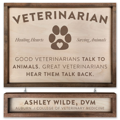 Pacific Crest Veterinarian Sign
