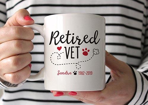 Retired Vet Mug