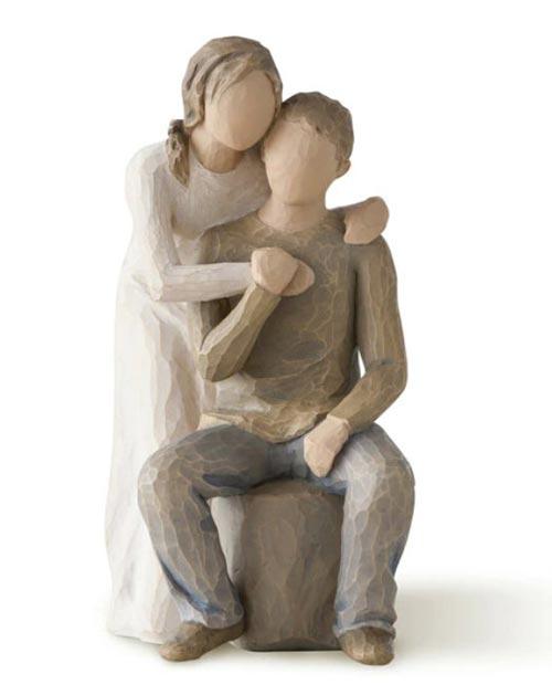 You & Me Willow Tree Figurine