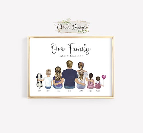 Personalized Family Photos