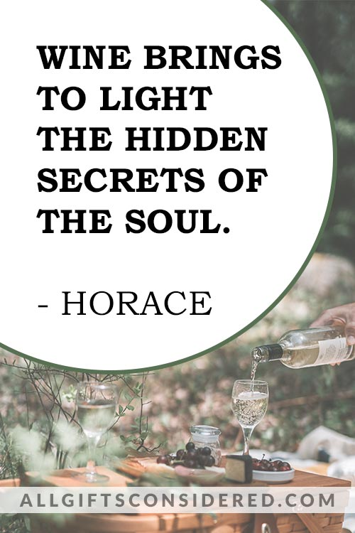 Wine Brings to Light - Wine Quotes