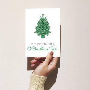 O Christmas Tree! Merry Christmas Greeting Card