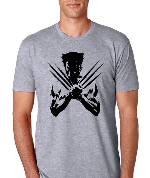 Silhouette Wolverine Tshirt